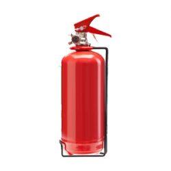 کپسول آتش نشانی پودر و گاز 1 کیلویی