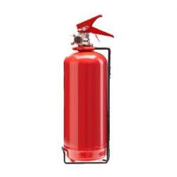 کپسول آتش نشانی پودر و گاز 2 کیلویی