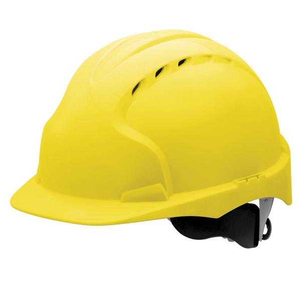 کلاه JSP مدل EVO3 زرد