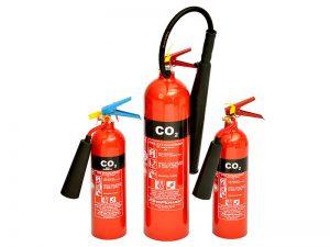 شارژ کپسول آتش نشانی کربن دی-اکسید