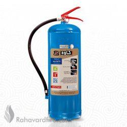 کپسول آتش نشانی آب و کف ۱۰ لیتری