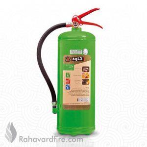 کپسول آتش نشانی بایوفوم ۶ لیتری