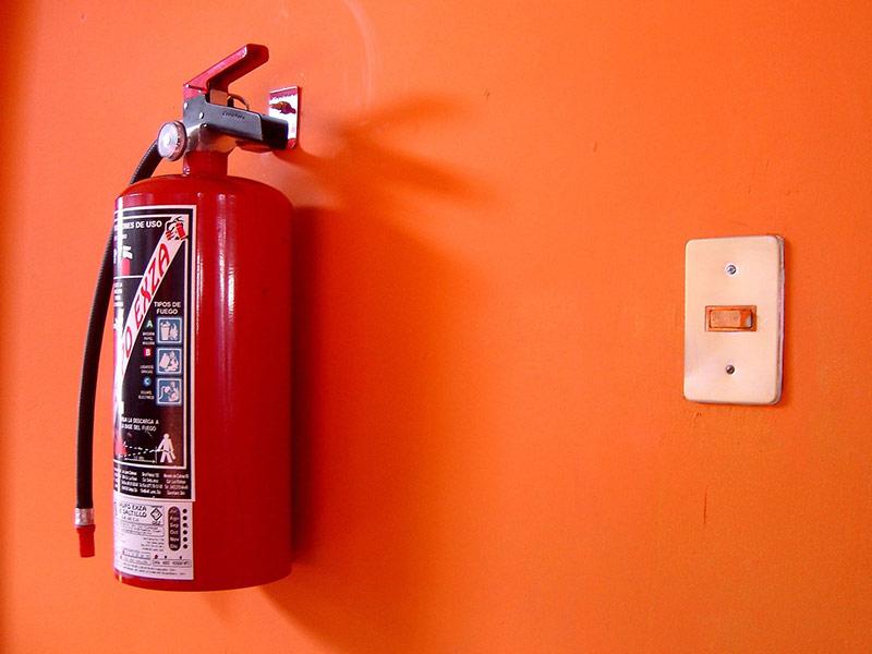 کپسول آتش نشانی هالوژنه
