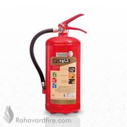 کپسول آتش نشانی پودروگاز ۴ کیلوگرمی