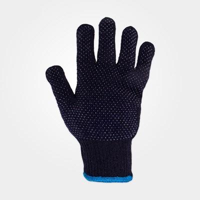 دستکش بافتنی خالدار دورو