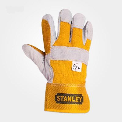 دستکش چرمی کف دوبل استنلی