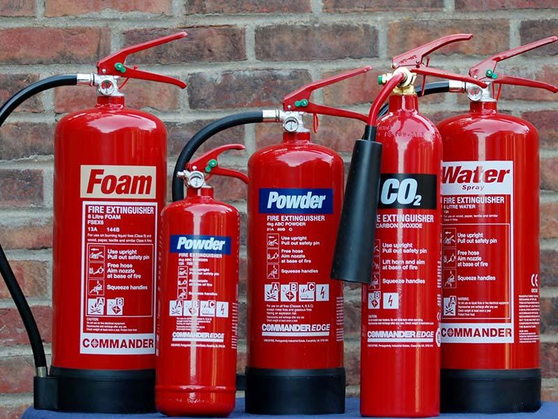 خرید کپسول آتش نشانی پودر و گاز