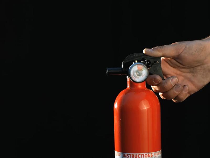 کپسول آتش نشانی گاز كربنيك