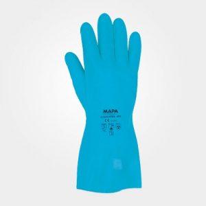 دستکش مقاوم شیمیایی 495 ماپا ساق بلند