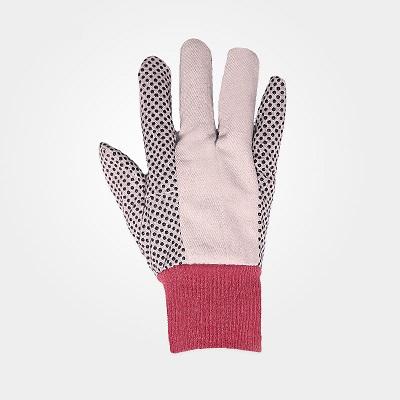 دستکش کتان خالدار
