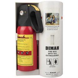 کپسول و پتوی اطفاء حريق ديما