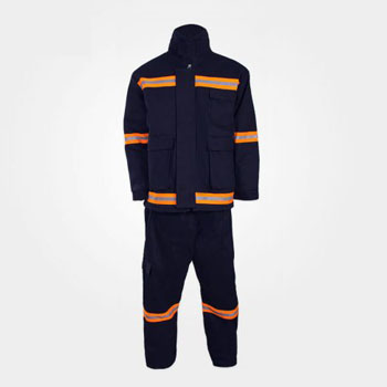 لباس آتش نشانی عملیاتی مشکی