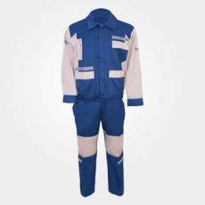 لباس کار کاپشن و شلوار آبی