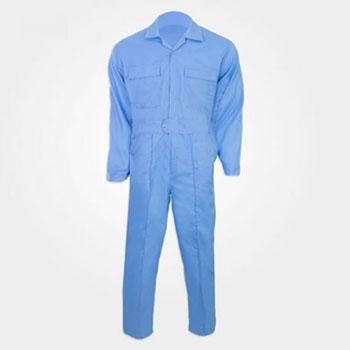 لباس کار یکسره ترگال آبی