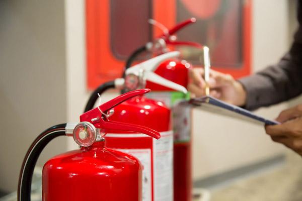 تست هیدرواستاتیک کپسول آتش نشانی
