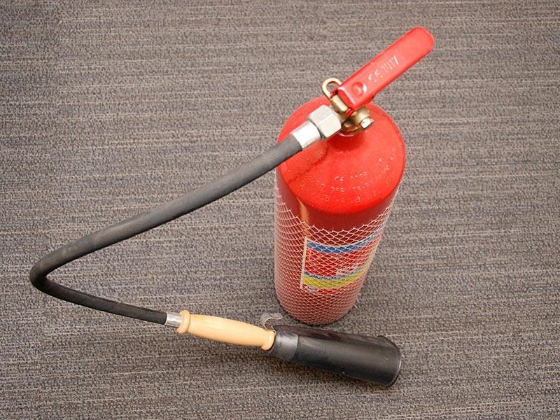 کپسول آتش نشانی استاندارد