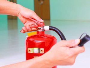 زمان شارژ کپسول آتش نشانی