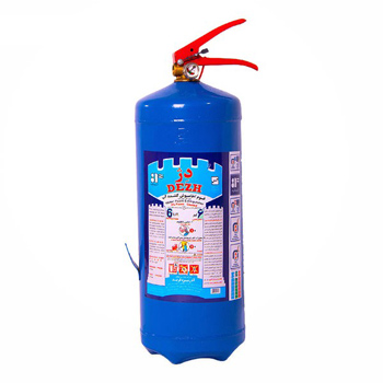 کپسول آتش نشانی آب و گاز دژ ۶ لیتری