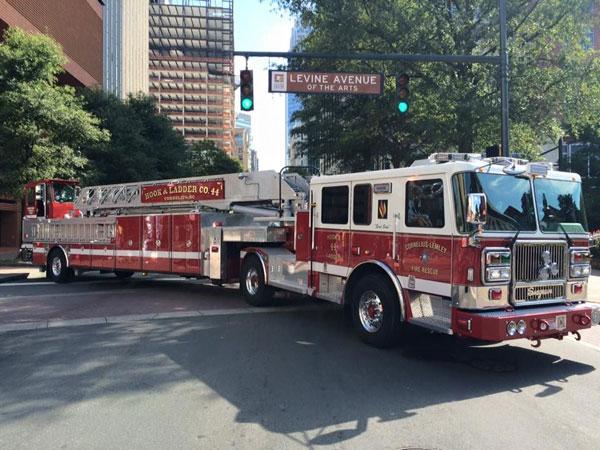 خودروی آتش نشانی tda