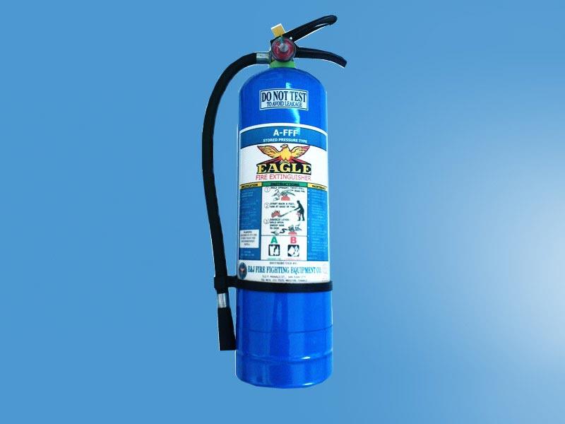 انواع کپسول آتش نشانی آب و گاز