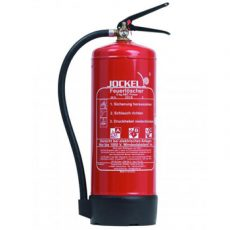 کپسول آتش نشانی پودر و گاز 6 کیلوگرمی جوکل