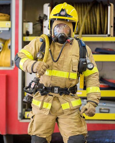 تجهیزات فردی آتش نشان
