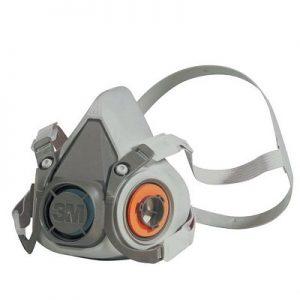 ماسک نیم صورت دو فیلتر 3M مدل 6200