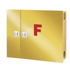 جعبه درب استیل طلایی دو کابین پیشرو
