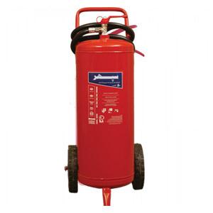 کپسول آتش نشانی چرخدار ۵۰ کیلویی سپهر
