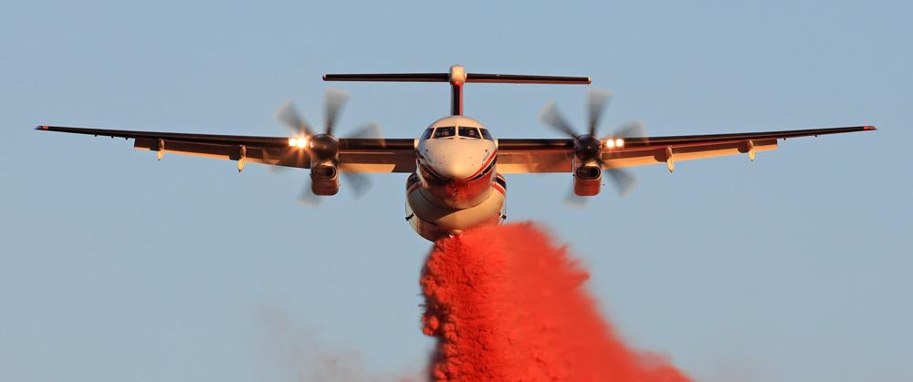 عملیات اطفا حریق هوایی