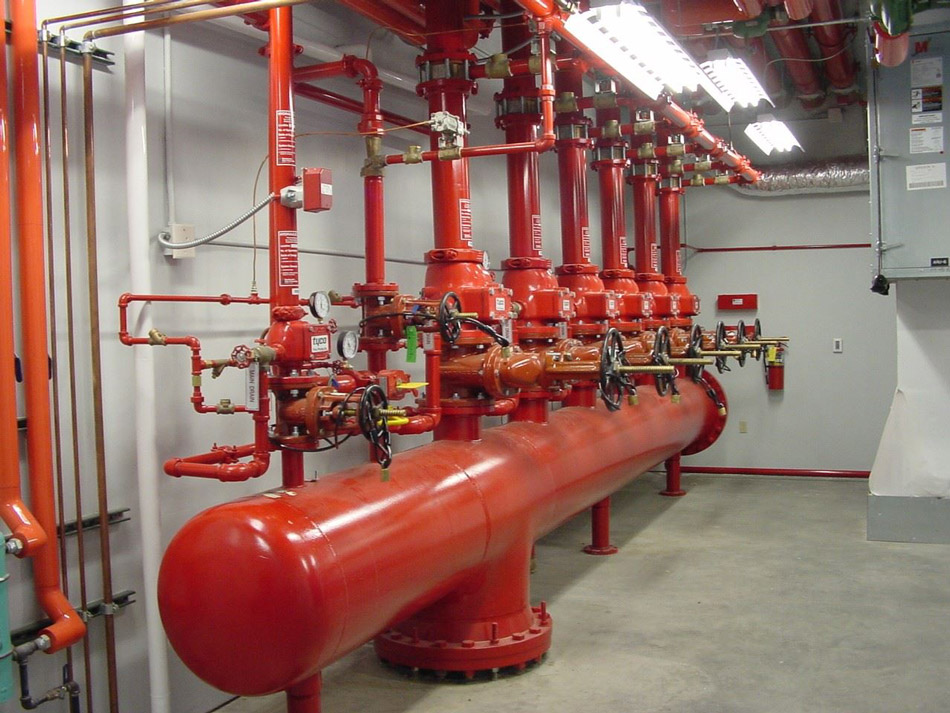سیستم لوله کشی آتش نشانی