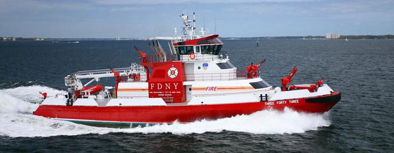 کشتی آتش نشانی رنجر 4200