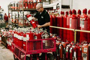 زمان جایگزینی کپسول آتش نشانی